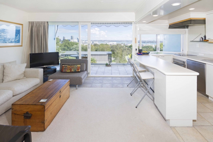 Parnell's best bedroom view ... for less than $400,000?