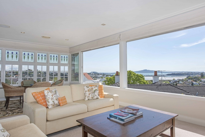Seaview's best sea views... if not Remuera's!